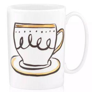 Kate Spade Daisy Place Mug Creme De La Creme